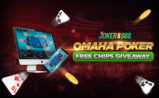 Omaha Poker Free Chips Giveaway